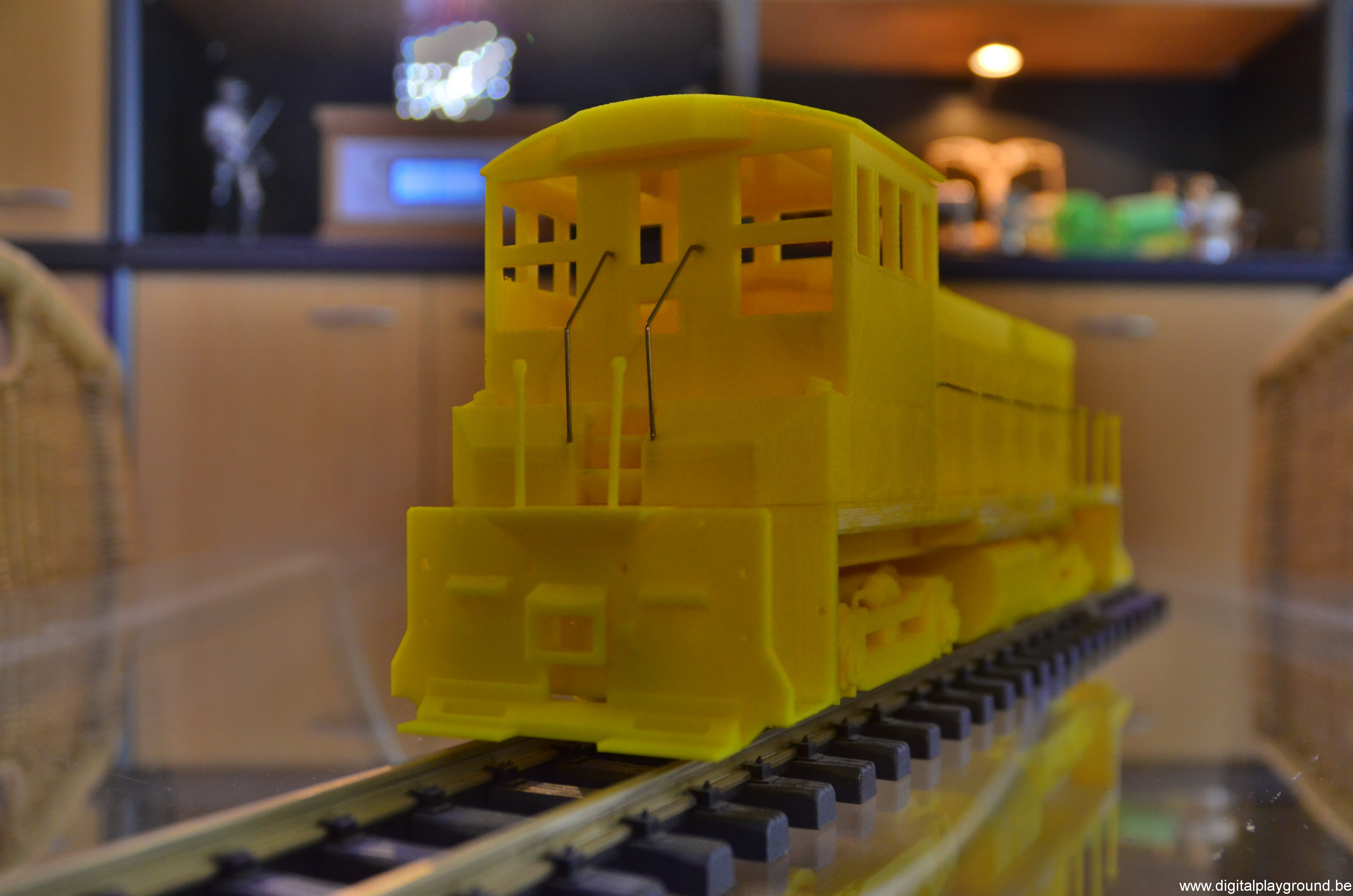 3d Printed Emd Sw1500 Locomotive Scale 1 32 For The