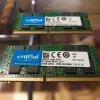 2x 16 GB Crucial memory